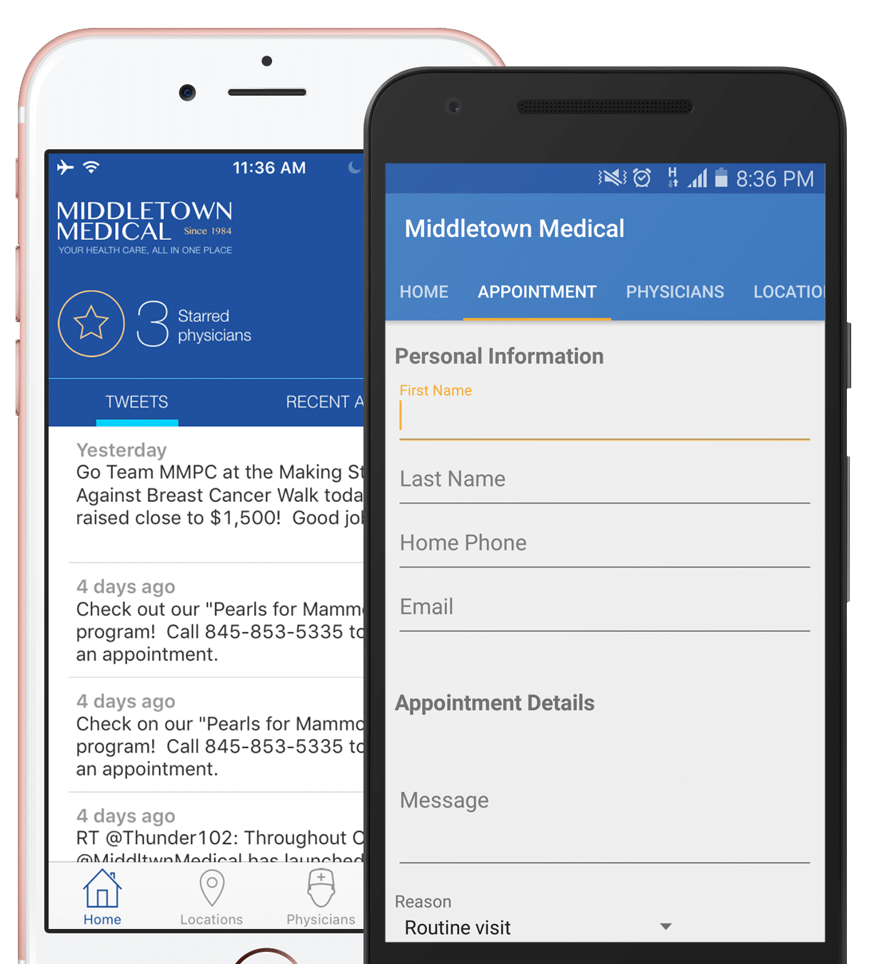 Middletown Medical App
